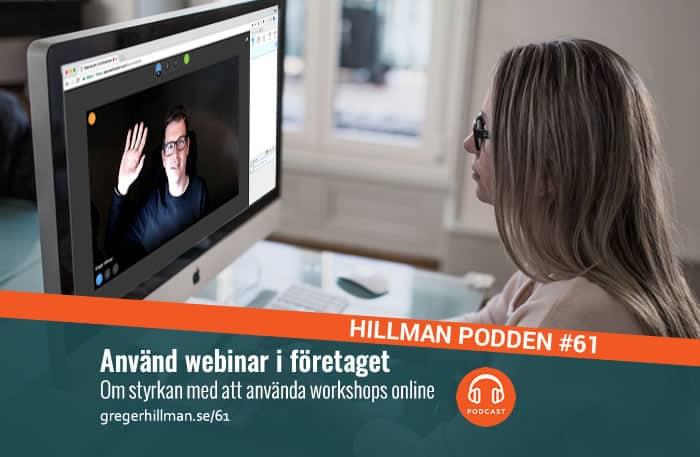 Svenska webinar, webbseminarium och workshops online